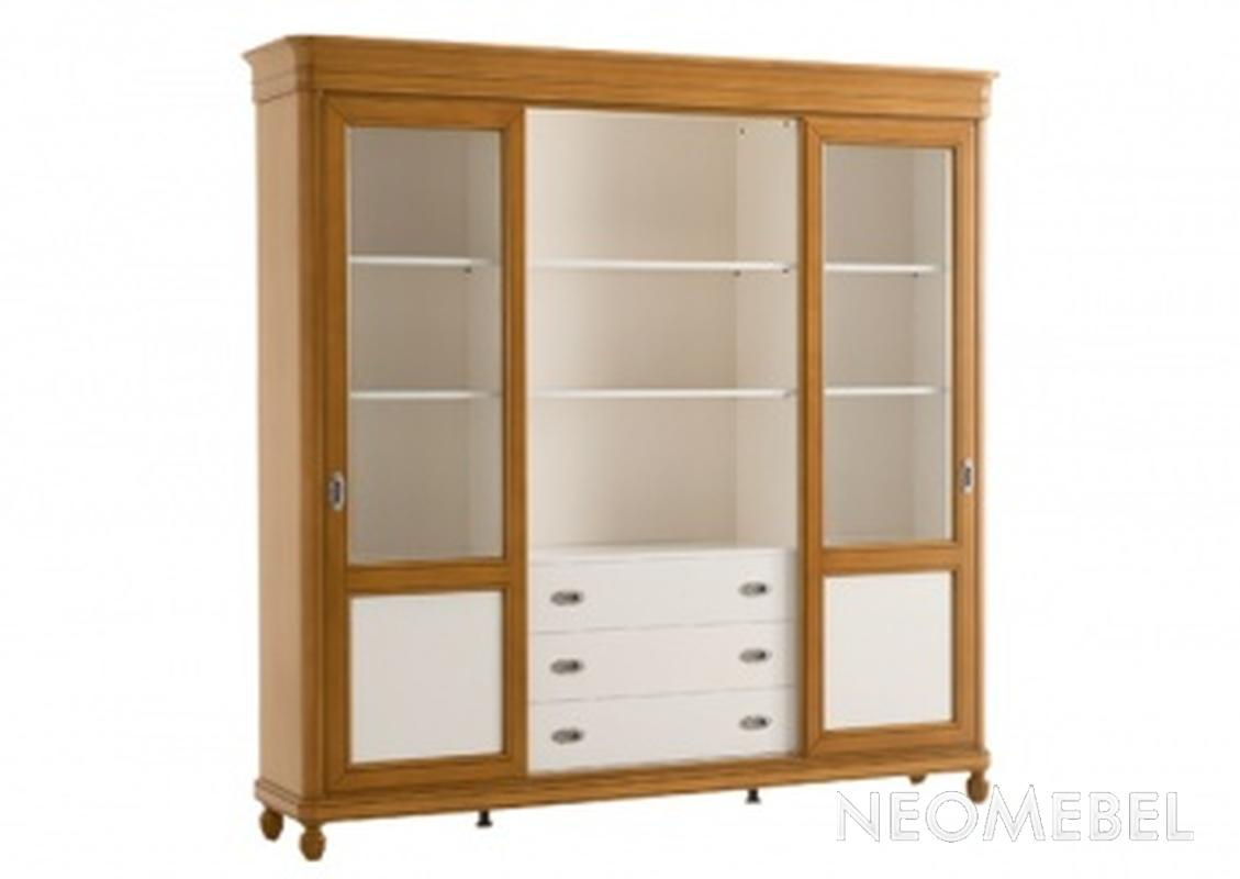 Книжный шкаф co318, cavio в наличии на складе в москве / куп.